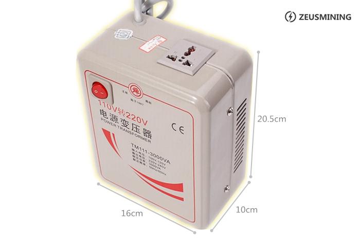 110V to 220V Power transformers