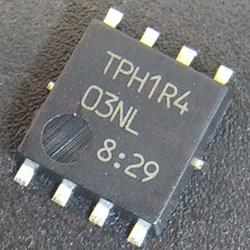 Hash board MOS TPH1R503NL