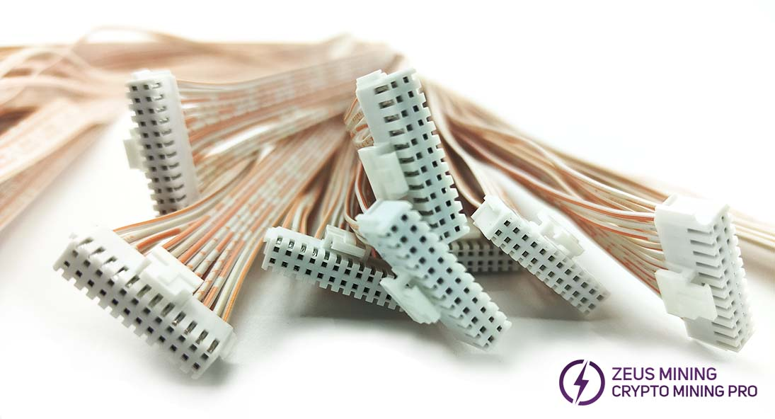 2*12 cable for hash board