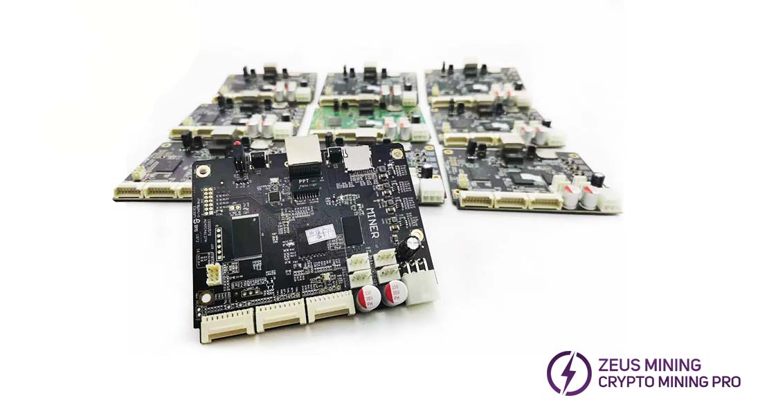 Antminer S17 control board replacement