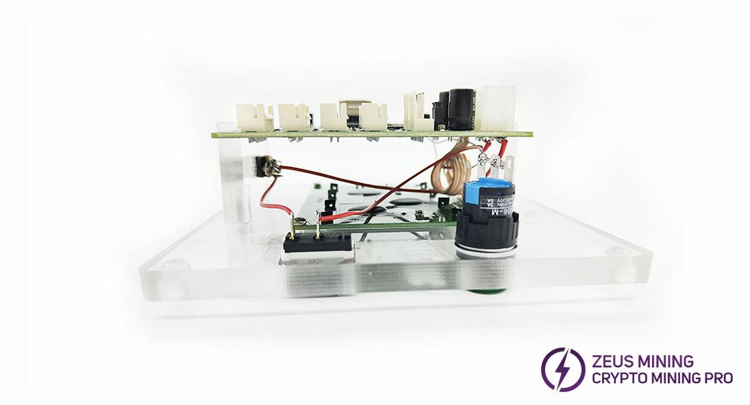 Antminer S9 test fixture