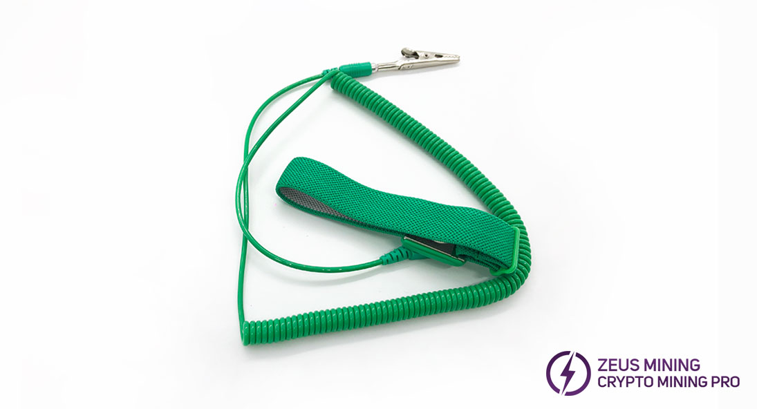 anti-static wrist strap no ground