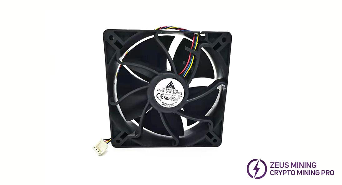 Miner fan repair