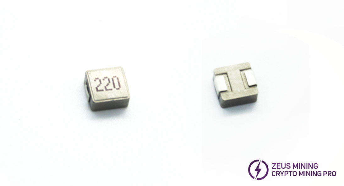 High quality inductor 220