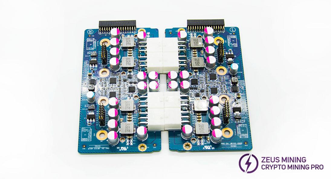 L+R 851 board