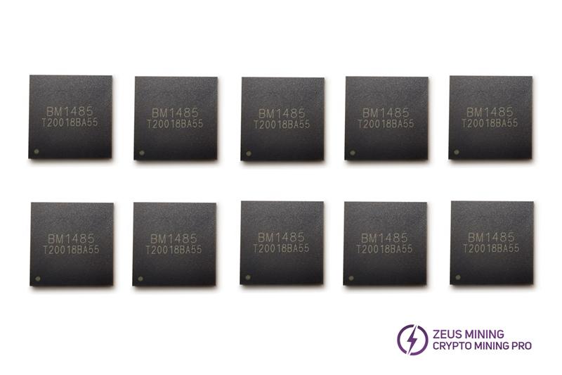 Antminer L3+ chip BM1485