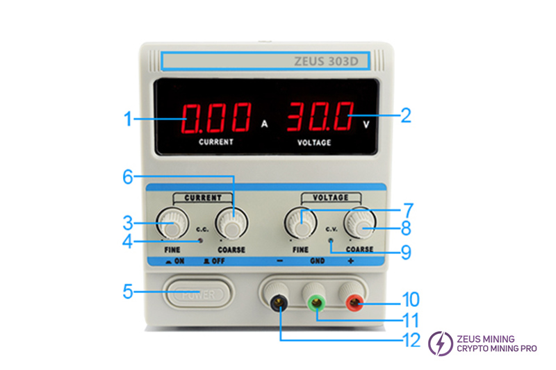 adjustable dc regulated power supply