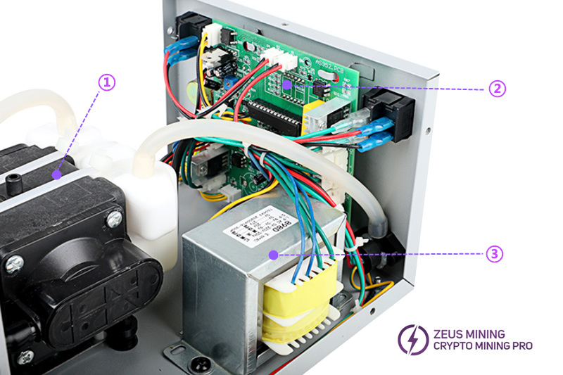 Adjustable temperature 3102D desoldering station