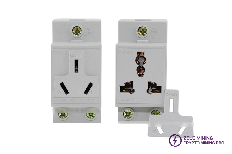 Modular socket AC30-10540