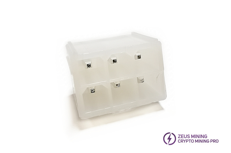 High quality straight pin control board power socket