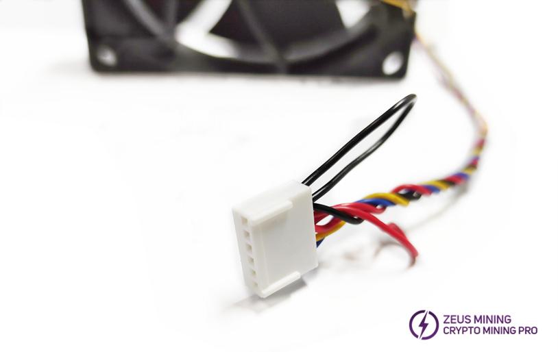 straight 6-pin whatsminer M10 fan