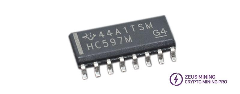 CD74HC597M