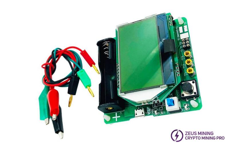 inductor-capacitor ESR meter