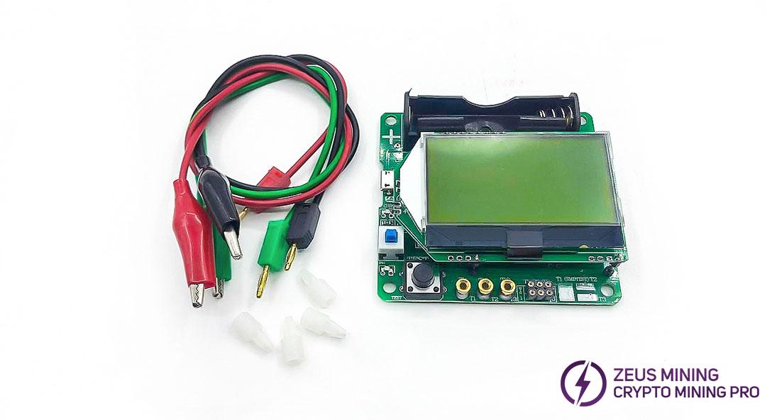 3.7V transistor tester