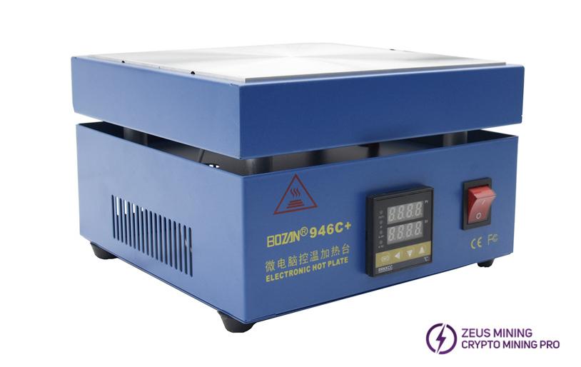 electronic preheating station uses