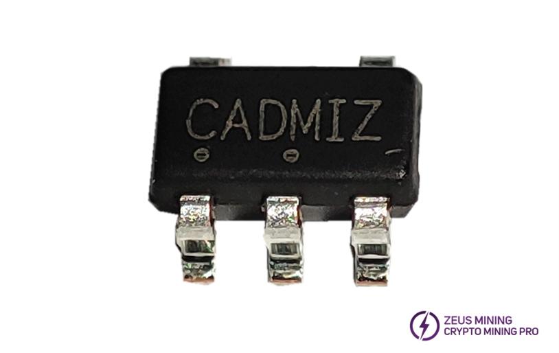 CADMIZ voltage regulator chip