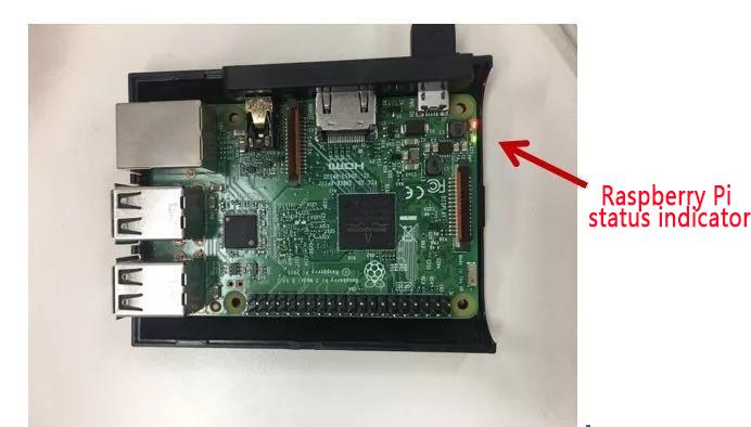 Raspberry Pi status indicator