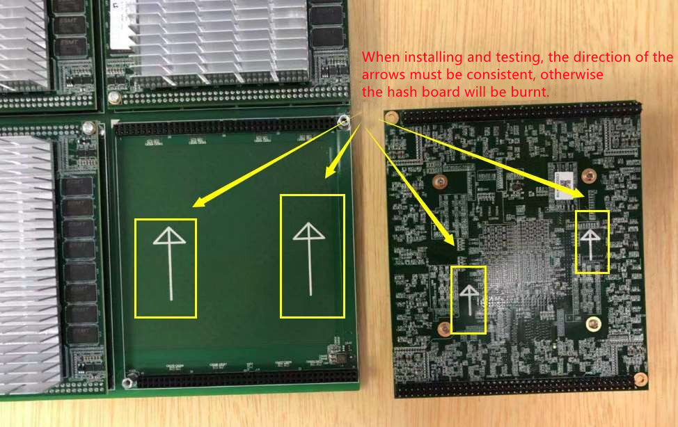 Install the module board