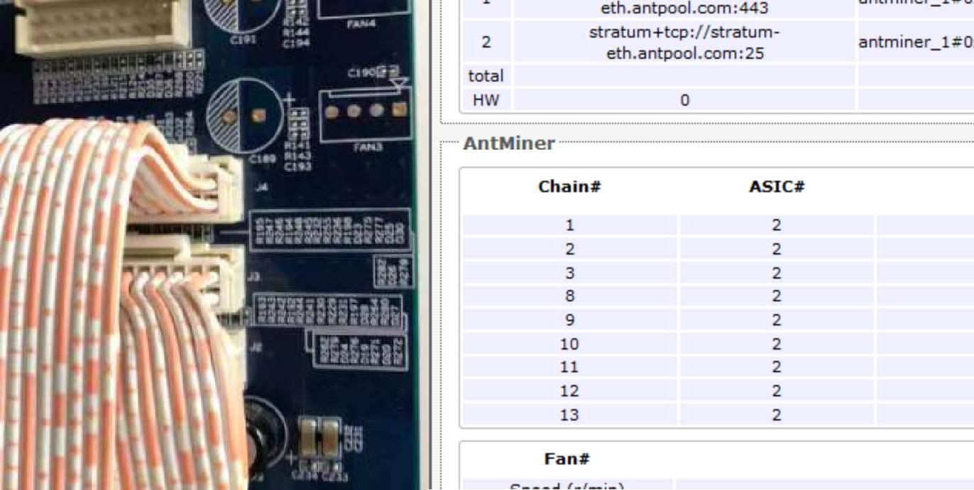 E3 control board