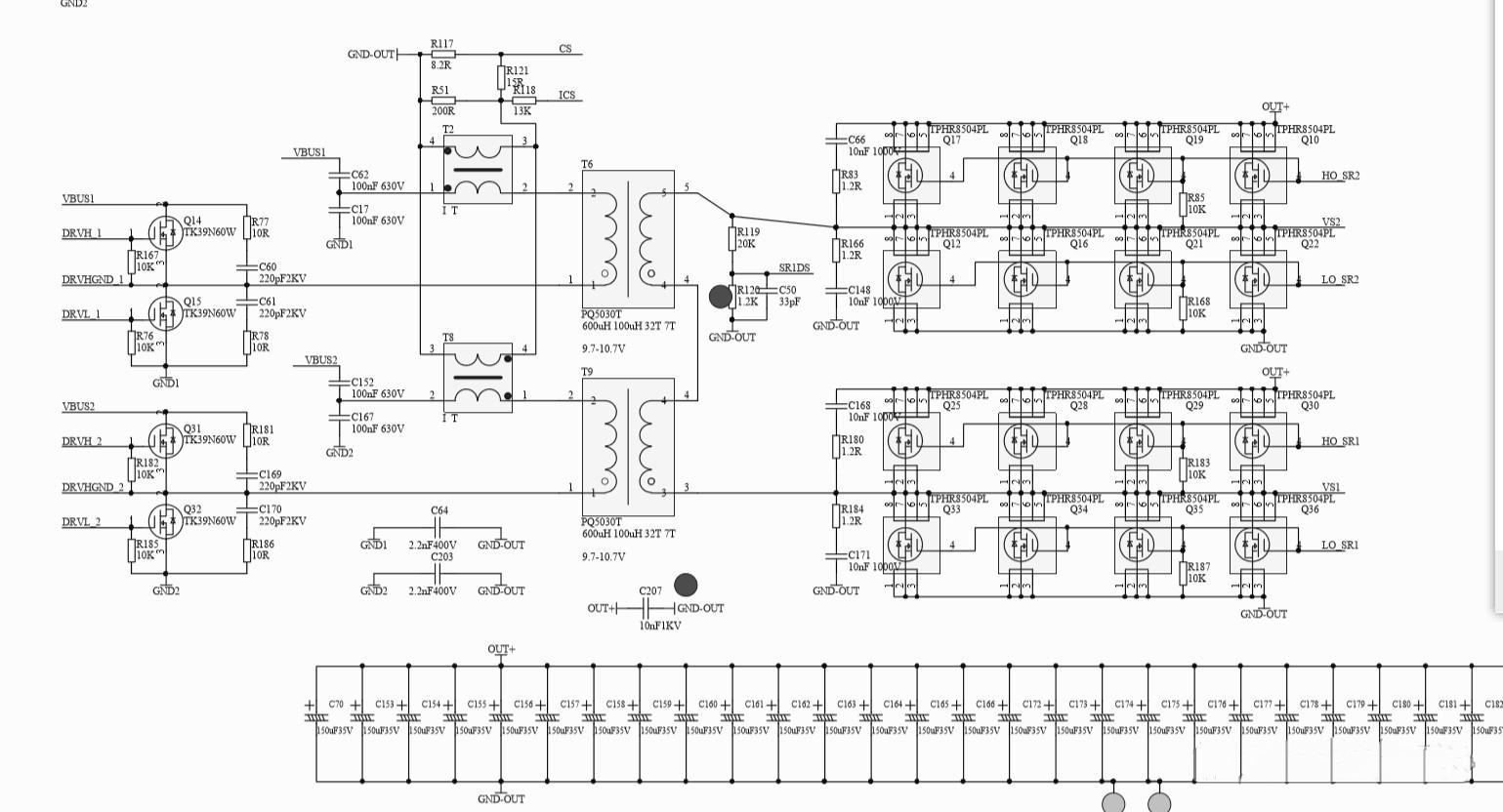 LLC circuit