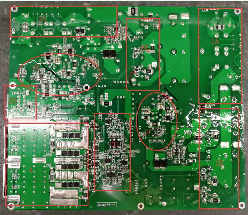 Power PCBA board layout