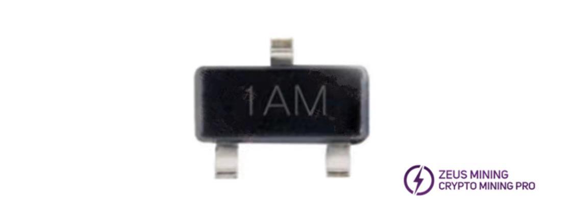 MMBT3904 1AM transistor