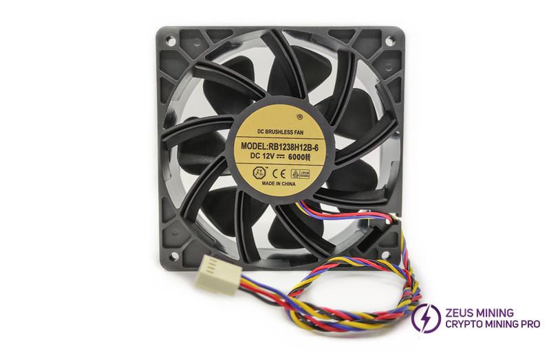 12CM 6000 RPM fan